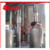 Best 1000L Semi-Automatic Vodka Commercial Distilling Equipment 3MM Thickness CE wholesale