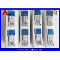 Best Pharma Lab Peel Off 10ml Vial Labels Metallic Printing For Bodybuilding Steroids Injection Vials wholesale