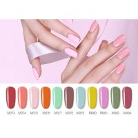 Best Free Samples Bright Multi Colors Healthy Resin Material Non Toxic UV Gel Color For Nails wholesale