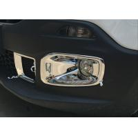 Best JEEP Renegade 2016 Chromed Front Fog Lamp Cover and Rear Bumper light Molding wholesale