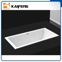 Cheap Square Long Freestanding Soaking Bathtubs For 1 Person Space Saving for sale