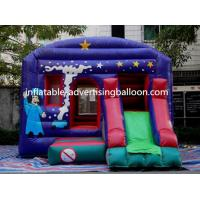 Best PVC Inflatable Castle Bouncer Colorful For Commercial / Party wholesale