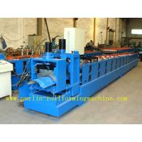 Best ISO / CE Approved Metal Ridge Cap Tile Roll Forming Machine Production Line High Speed wholesale