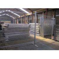Cheap Public Security Event Steel Temporary Fencing Weather Resistant And Durable for sale