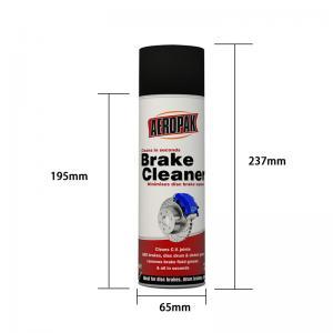 Best OEM UN1950 DME Gas Aeropak 500ML Brake Cleaner Spray wholesale
