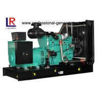 CE & ISO Electric Cummins Open Diesel Generator with Water Cooling 3 - phase