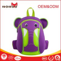 Best Ultralight Neoprene Children School Bag Backpack Zoo Animal Elephant Shaped wholesale
