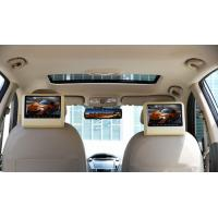 Best Black / Brown Active Headrest DVD Player With DIY Installation wholesale