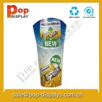 China Round Advertising Cardboard Store Displays For Candy Promotion on sale