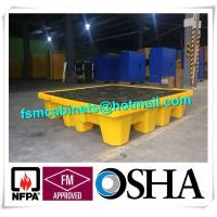 Cheap Oil Tank Storage HDPE Spill Containment Pallets, Spill Pallet for 220L Oil Drum for sale