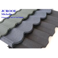 Best CE Colorful Stone Coated Metal Roofing Tiles Villa Building Material wholesale
