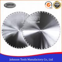 Best Laser Welded Diamond Wall Saw Blades Reinforced Concrete Cutting with High Lifetime wholesale