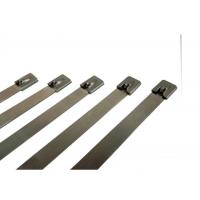 Best Strong Steel Stainless Steel Cable Ties Straps For Cable Wiring Prompt Delivery wholesale