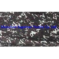 Best PTFE Laminated 300D Polyester Oxford Breathable Coated Fabric 2mm Ribstop Digital Camo wholesale