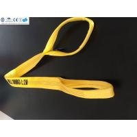 China Polyester flat webbing sling ,  WLL 3T ,   safety factor 7:1  , According to EN11492-1 Standard,  CE,G on sale