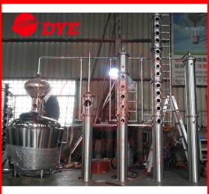 Best 500L Copper Distillation Column Distillery Equipment Vodka Distillery wholesale