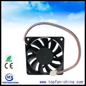 Best Smart Fan Control For Car Cooling Sytem 12V 4500 RPM Cooling Fan 7015 Platics Frame and Impeller wholesale
