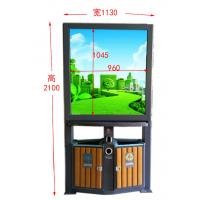Buy cheap 2017-6 Hot Sale Advertising Light Box with Gabage Bin from wholesalers