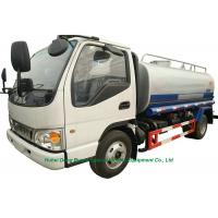 Best JAC Road Wash  Water Carrier Truck  5000L  With  Water  Pump Sprinkler For  Clean  Water Delivery and Spray wholesale