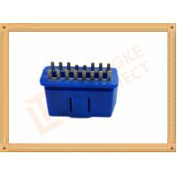 Best PVC BLUE OBDII 16 Pin Male OBD Diagnostic Connector CK-SOM002B wholesale