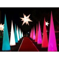 Quality Exhibit Party Light Inflatable Cone for Stage and Wedding Decoration wholesale