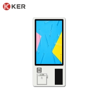 Best Android Payment Ticketing 32 Inch 1920*1080 Self Service Ordering Kiosk wholesale