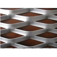 "Best 304 316 Stainless Steel Expanded Metal Mesh With Diamond Shape 4 "" * 8 "" wholesale"