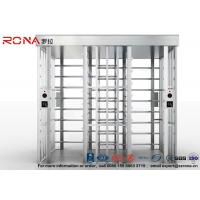 Best Double Lane Security Controlled Turnstile Security Gates Rapid Identification wholesale