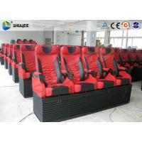 Best Mobile 5D Cinema Simulator With 3DOF Motion Chair With 4 Seats Per Set wholesale