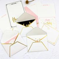 Best Foldable Gift Card Hard Paper Envelope 0.12mm-0.4mm Thickness wholesale