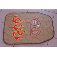 China Logo Printed Non Slip Rubber Car Mats , Personalized Car Floor Mats on sale