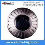 Best UFO Round Solar Wall Lights RGB Solar Inderground Lamp Solar Pathway Lawn Light Solar Dock Deck Light Solar Stair Light wholesale