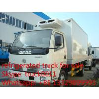 Cheap dongfeng 4ton refrigerated truck for fresh fruits and vegetables for sale, chaochai 95hp diesel cold room truck for sale for sale