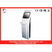 Cheap IP65 Safety Interactive Touchscreen Kiosk Anti-dust For Bank Information wholesale