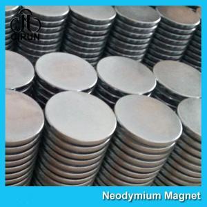 China Strong Disc NdFeB Rare Earth Neodymium Magnets 10mm X 1mm Custom Shaped on sale