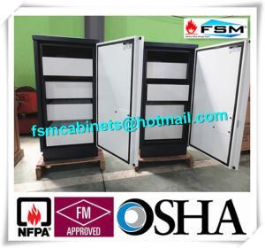 Best Fireproof 4 Drawer File Cabinet Safe Flammable Locker Magnetic Proof For CD wholesale
