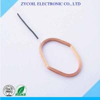 Best RFID Antenna Coil Dia 0.8mm , Copper Wire Radiofrequency Coils For Card Tags wholesale