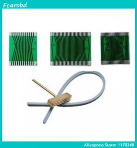 Best Fcarobd 1pc Solder T-head + 1pc blue Teflon Cable + 1pc new ribbon cable for Mercedes W210 W202 W208 instrument wholesale