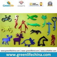 Best Muti-colors Aluminum Alloy Light Promotional Item Beer Bottle Openers in Different Animals Shapes wholesale