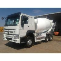 China 12m3 Concrete Mixer Truck SINOTRUCK HOWO 6x4 10 Wheeler With 336HP Engine on sale