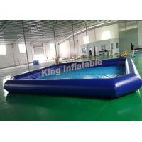 Details of outdoor giant inflatable water parks square Square swimming pools for sale