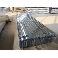 Best SGCC, G550, JIS G3302 steel Regular Spangle Galvanized Corrugated Roofing Sheet / Sheets wholesale