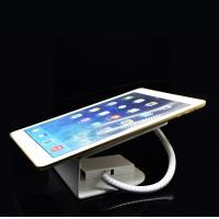 Best COMER White color universal alarm secure/security tablet stand with charging wholesale