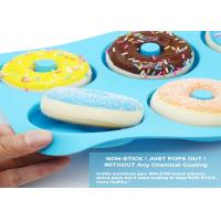 Best Silicone Donut Baking Pan of 100% Nonstick Silicone. BPA Free Mold Sheet Tray. wholesale