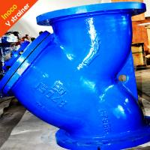 Best BOCIN High Strength Stainless Steel Y Flange Strainer Water Filter 200 Mesh / 400 Mesh wholesale