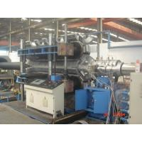 Best Automatic PE / PVC Double Wall Corrugated Pipe Machine PLC control system wholesale