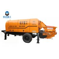 Best Long Distance Delivery Lightweight Concrete Pump , Small Portable Concrete Pump wholesale