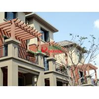 Best Durable Pergola Attached To House Roof , Attached Pergola Kits Fire Resistance wholesale