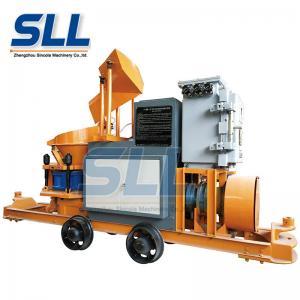 China 5m3/H Mining Explosion Proof Concrete Shotcrete Machine With Air Compressor on sale
