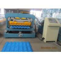 Best Glazed Metal Tile Forming Speed 4m/min  Roof Tile Roll Forming Machine 380V/3Phase/50HZ wholesale